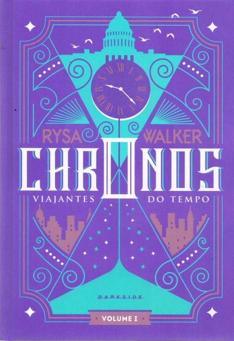 Capa do livro Chronos. Viajantes do Tempo
