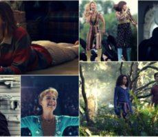 Mosaico de imagens dos filmes Eu, Tonia; Mamma Mia 2; LadyBird; Uma Dobra no Tempo; Operação Red Sparrow e Proud Mary